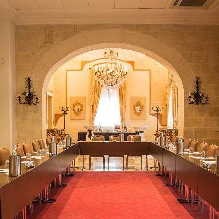 AX Palazzo Capua Sliema Conference U-Shape Set Up